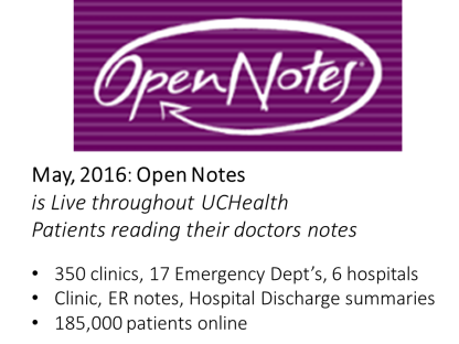 OpenNotes2016UCHealth
