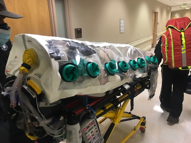 Transporting patients in the Covid Bag (guest post: Gary Breen MD)
