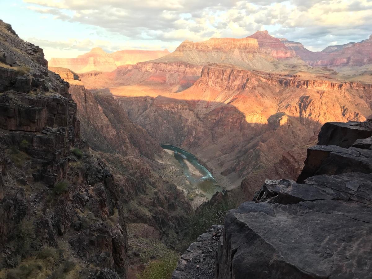 Grand Canyon: optimism, knees andfatherhood