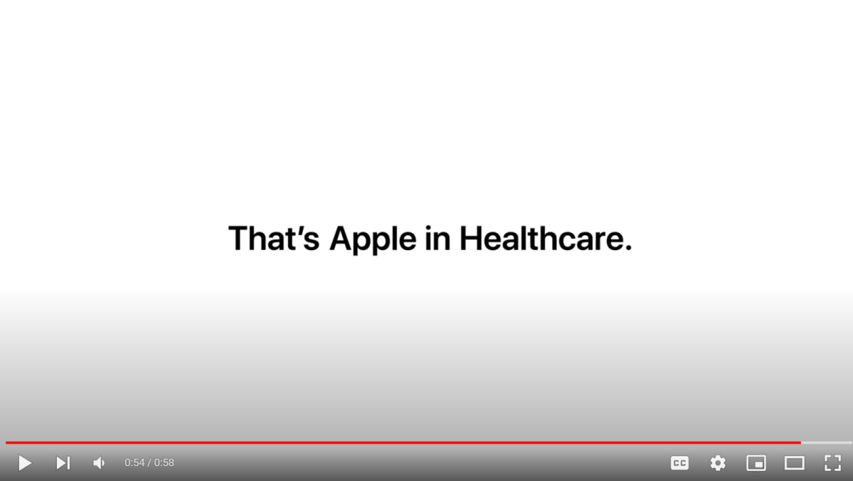 Apple (and UCHealth) inHealthcare